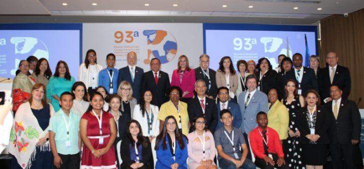 93ª Reunión Ordinaria del Consejo Directivo del Instituto Interamericano del Niño, la Niña yAdolescentes IIN-OEA
