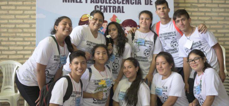 Central en su ´XIV Foro Departamental de Niñez y Adolescencia¨